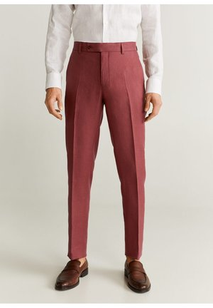 FLORIDA-I - Suit trousers - kersenrood