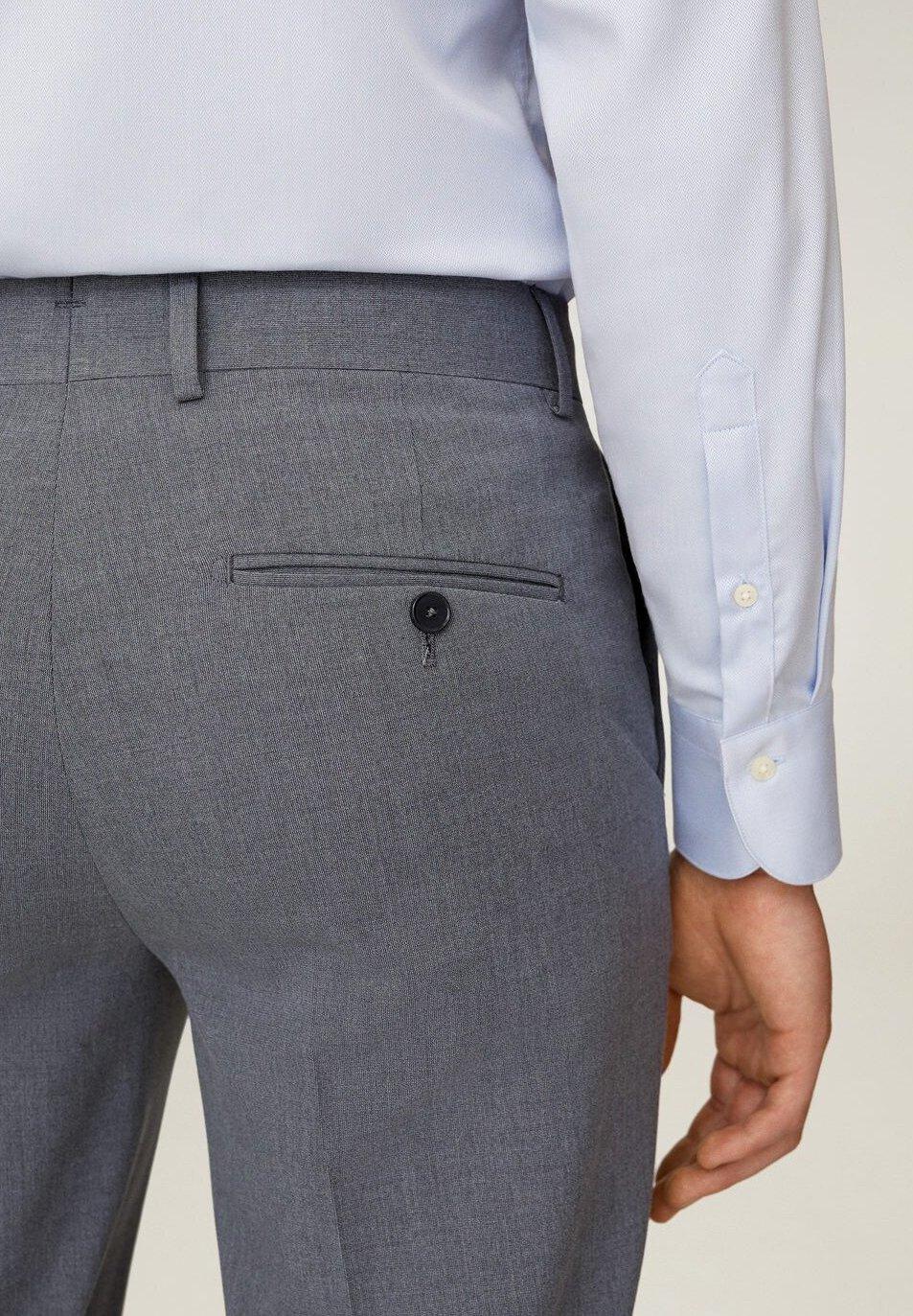Mango Pantalon de costume grau ZALANDO.FR