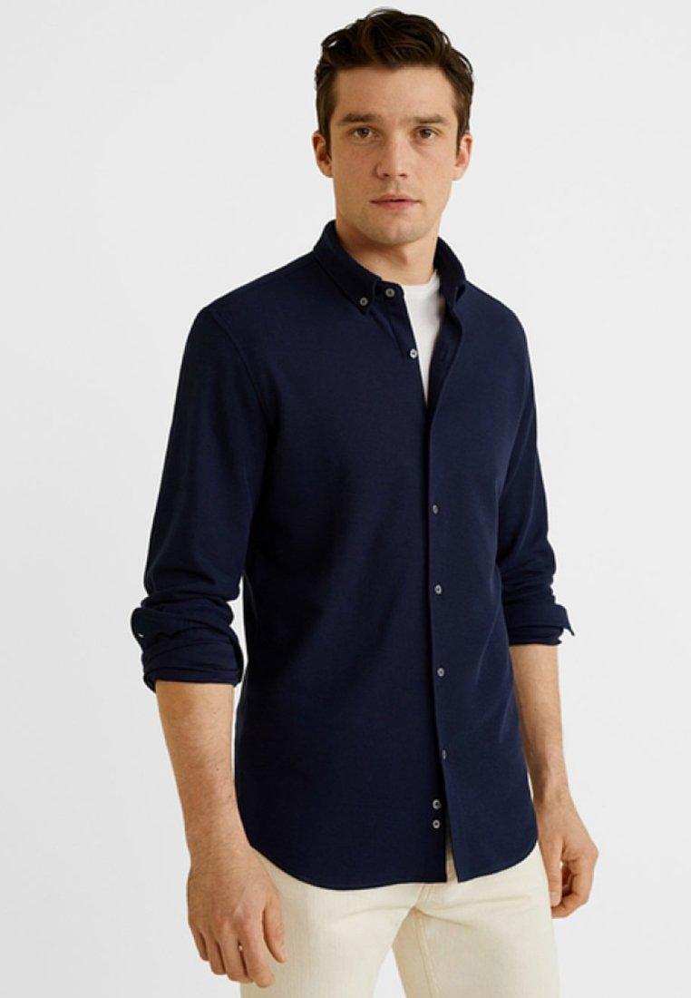 Mango - SERRA - Shirt - dark navy blue