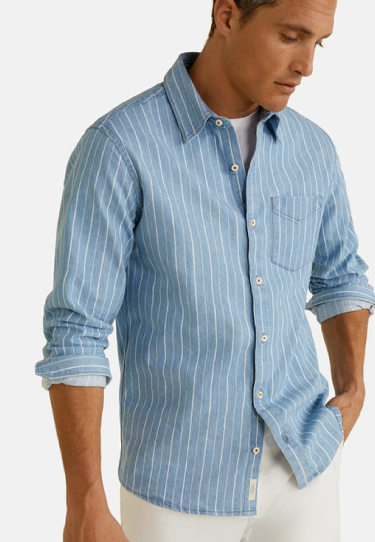 Mango - HUGOA - Skjorte - blue