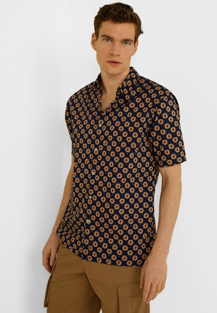 Mango - Shirt - royal blue