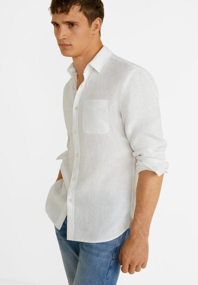 Mango - CALCUTA - Camisa - white