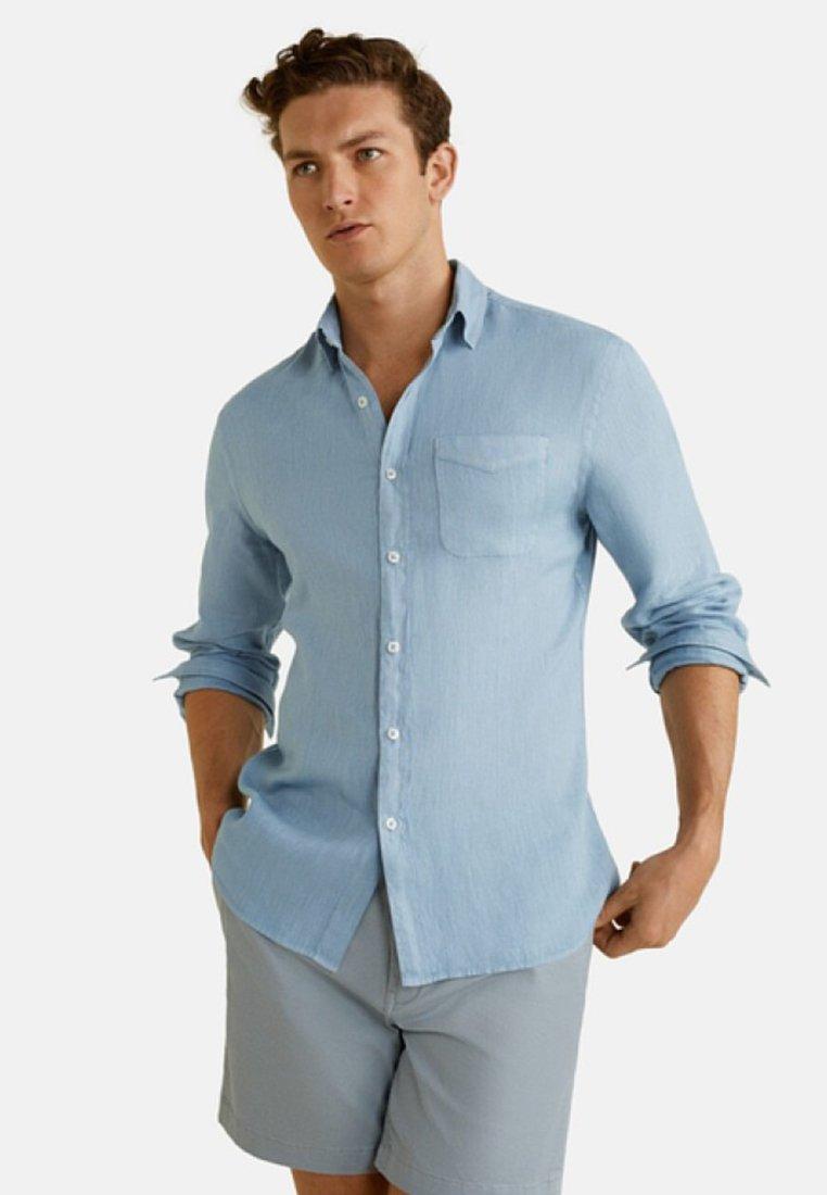 Mango - CALCUTA - Hemd - light blue