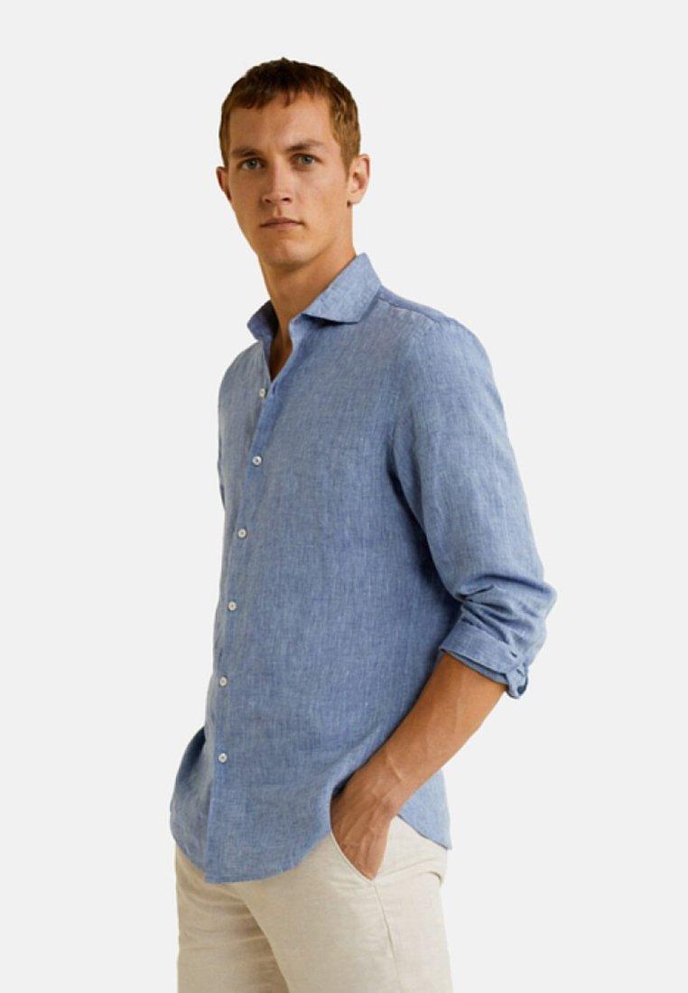 Mango - AVISPE - Shirt - royal blue