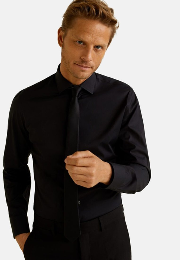 Mango - EMERITOL - Businesshemd - black