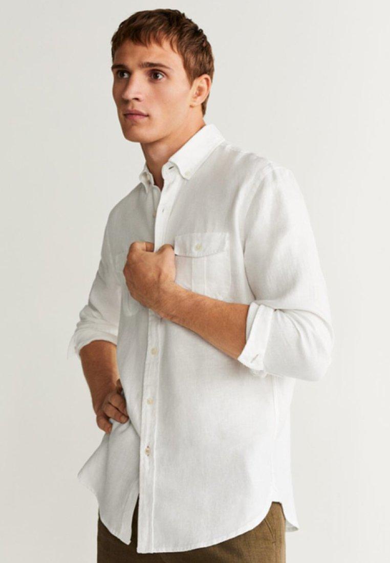 Mango - ISAUL - Shirt - white