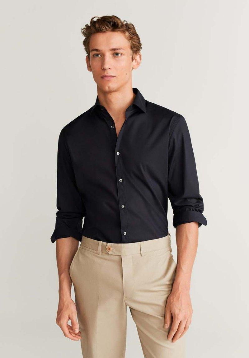 Mango - PLAY - Shirt - black