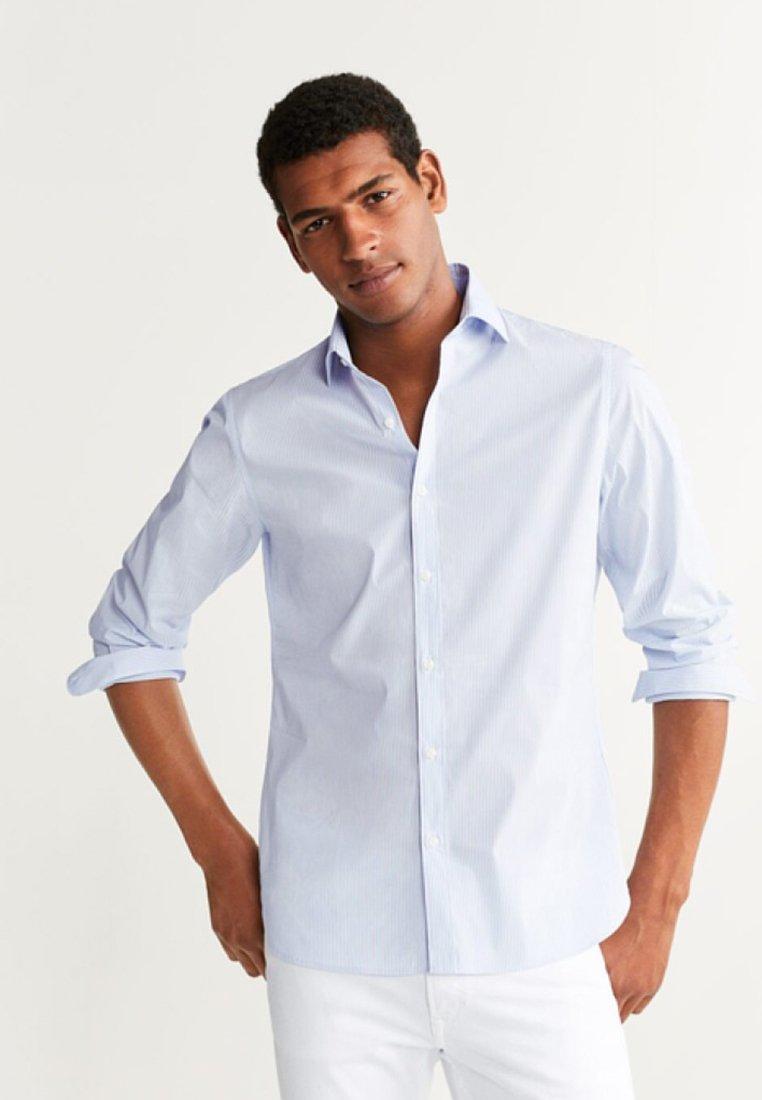 Mango - PLAYARN - Shirt - light blue