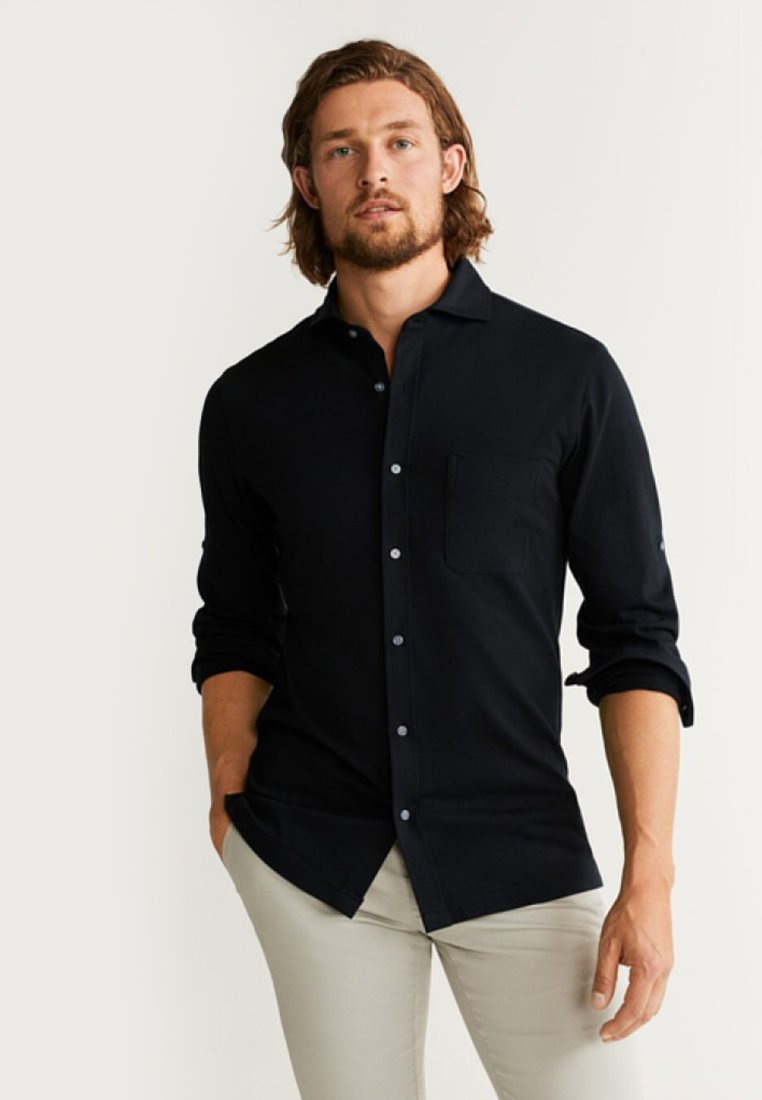 Mango - ABOK - Shirt - black
