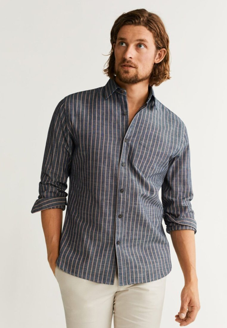 Mango - HUGOD - Skjorter - blue
