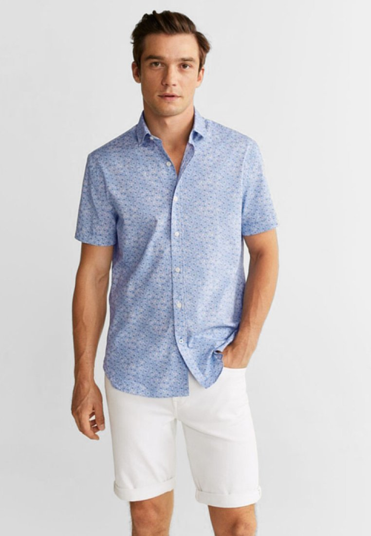 Mango - HECTOR-H - Camisa - blue