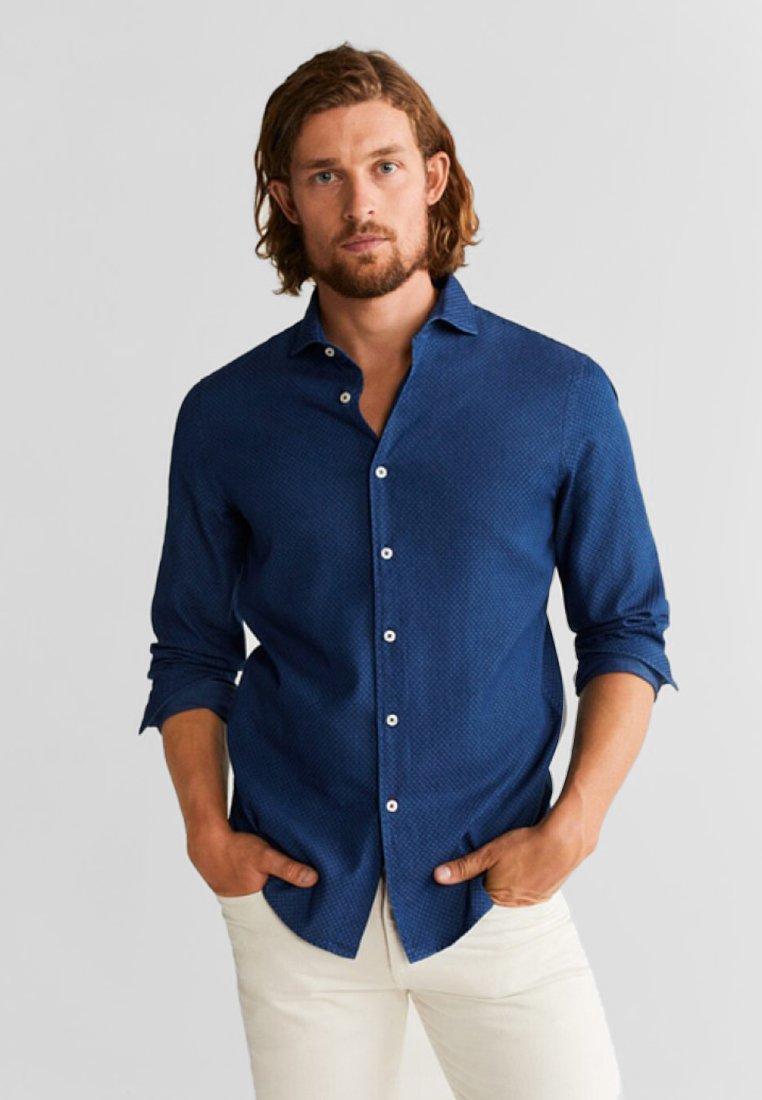 Mango - JUMP - Shirt - indigo blue