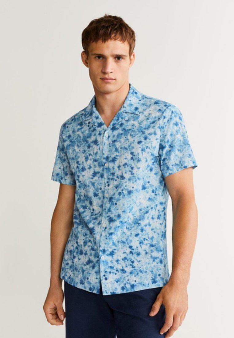 Mango - IVORY - Shirt - blue