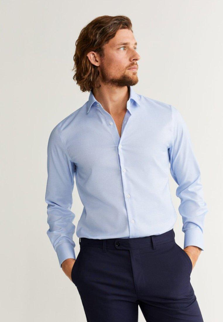 Mango - WISCONS - Finskjorte - light blue