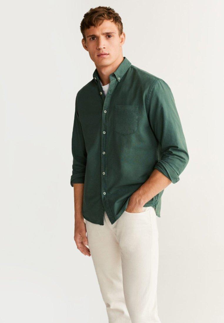 Mango - OXDYE - Hemd - green