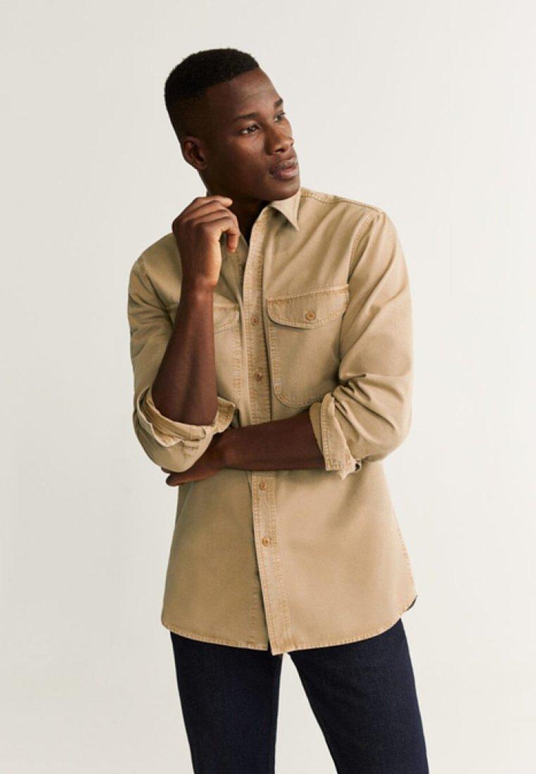Mango - MARK - Shirt - beige