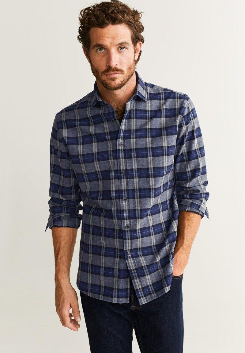 Mango - LOMBOK - Shirt - royal blue