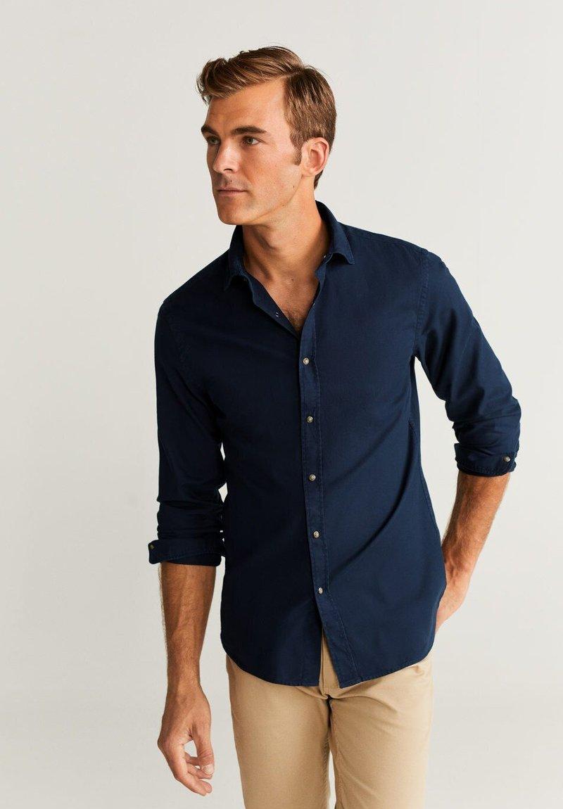Mango - ARTHUR - Skjorter - dark navy blue