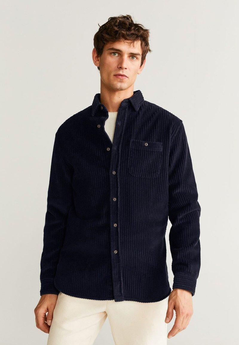 Mango - TUDOR - Skjorte - dark navy blue