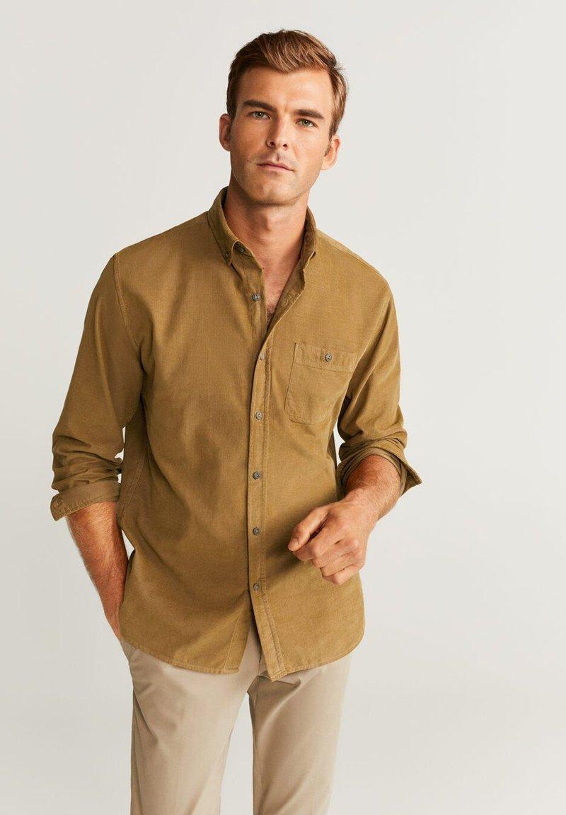 Mango - TADI - Camicia - ocher