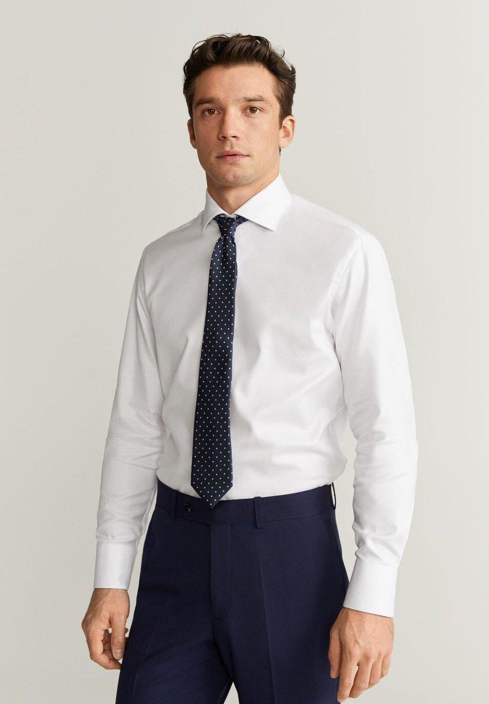 Mango ALFRED - Camicia elegante - white