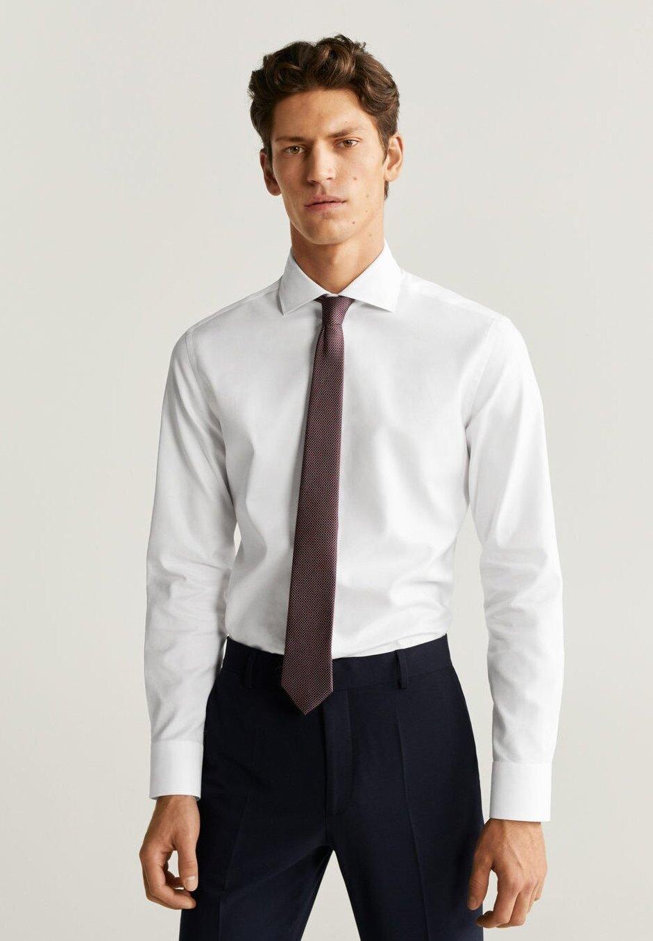 Mango MARTA - Koszula biznesowa - white