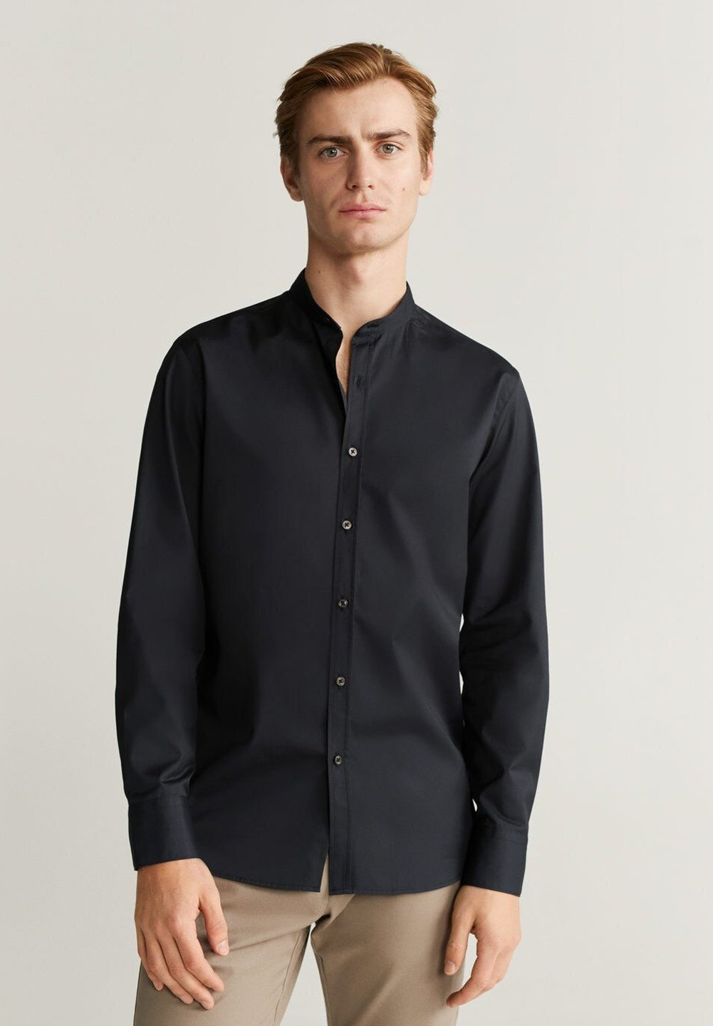 Mango PORTO - Koszula - schwarz