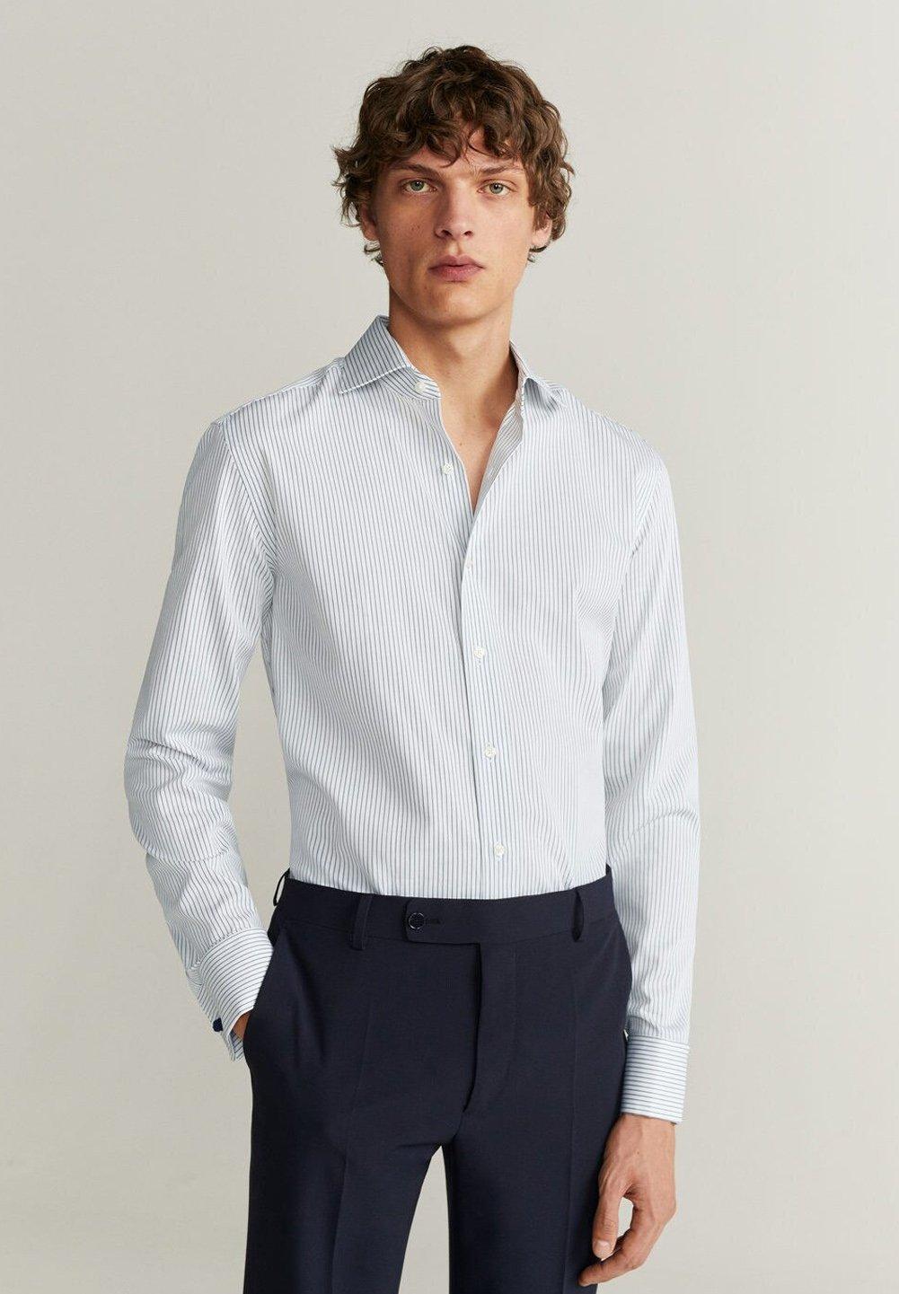 Mango DUERO - Koszula - weiß