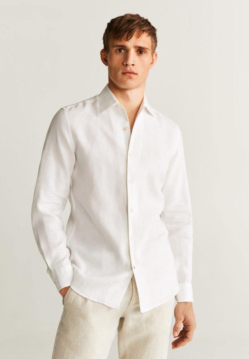 Mango - PARROT - Shirt - weiß