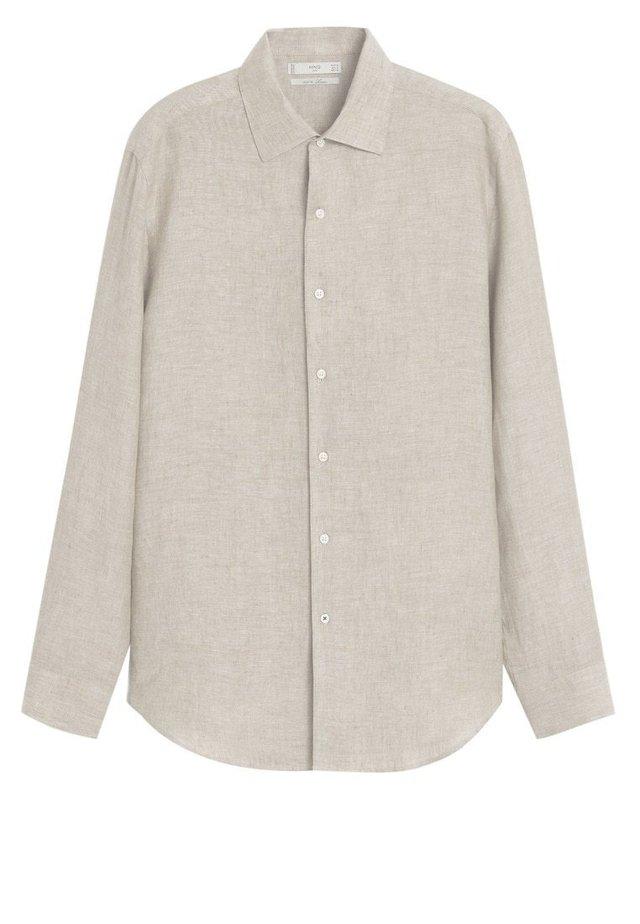 PARROT - Skjorte - sandfarben