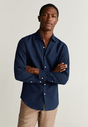 PARROT - Shirt - Dark navy blue