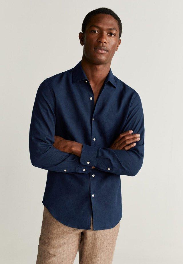 PARROT - Skjorte - Dark navy blue