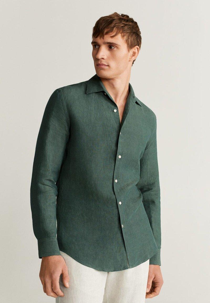 Mango - PARROT - Shirt - grün