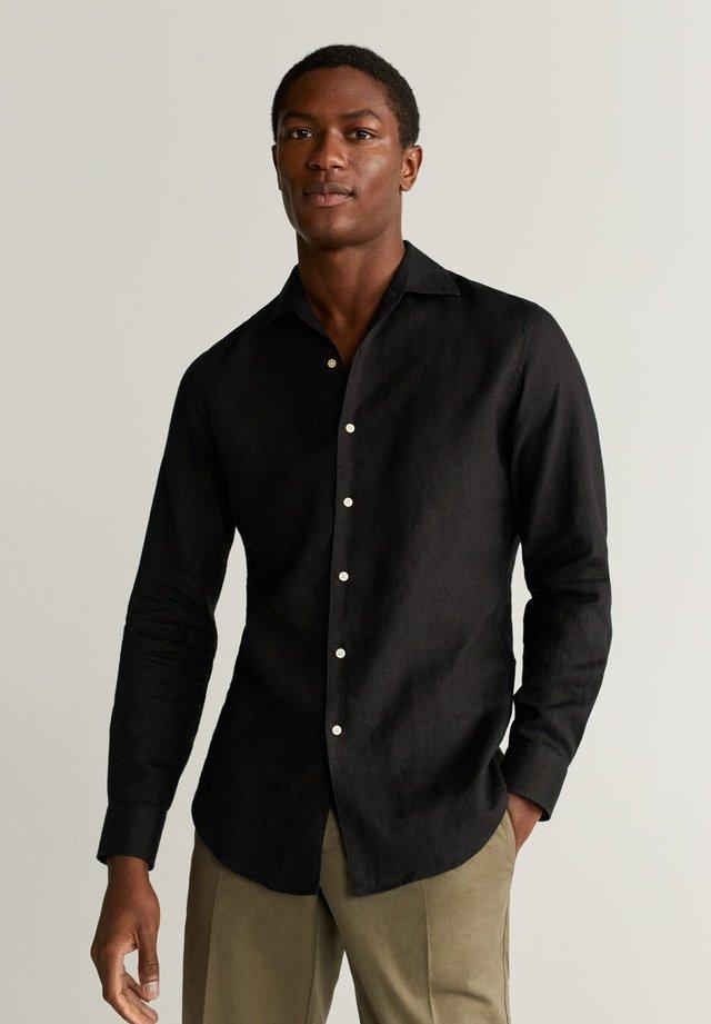 PARROT - Camicia - schwarz
