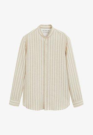ELDA - Overhemd - sandfarben