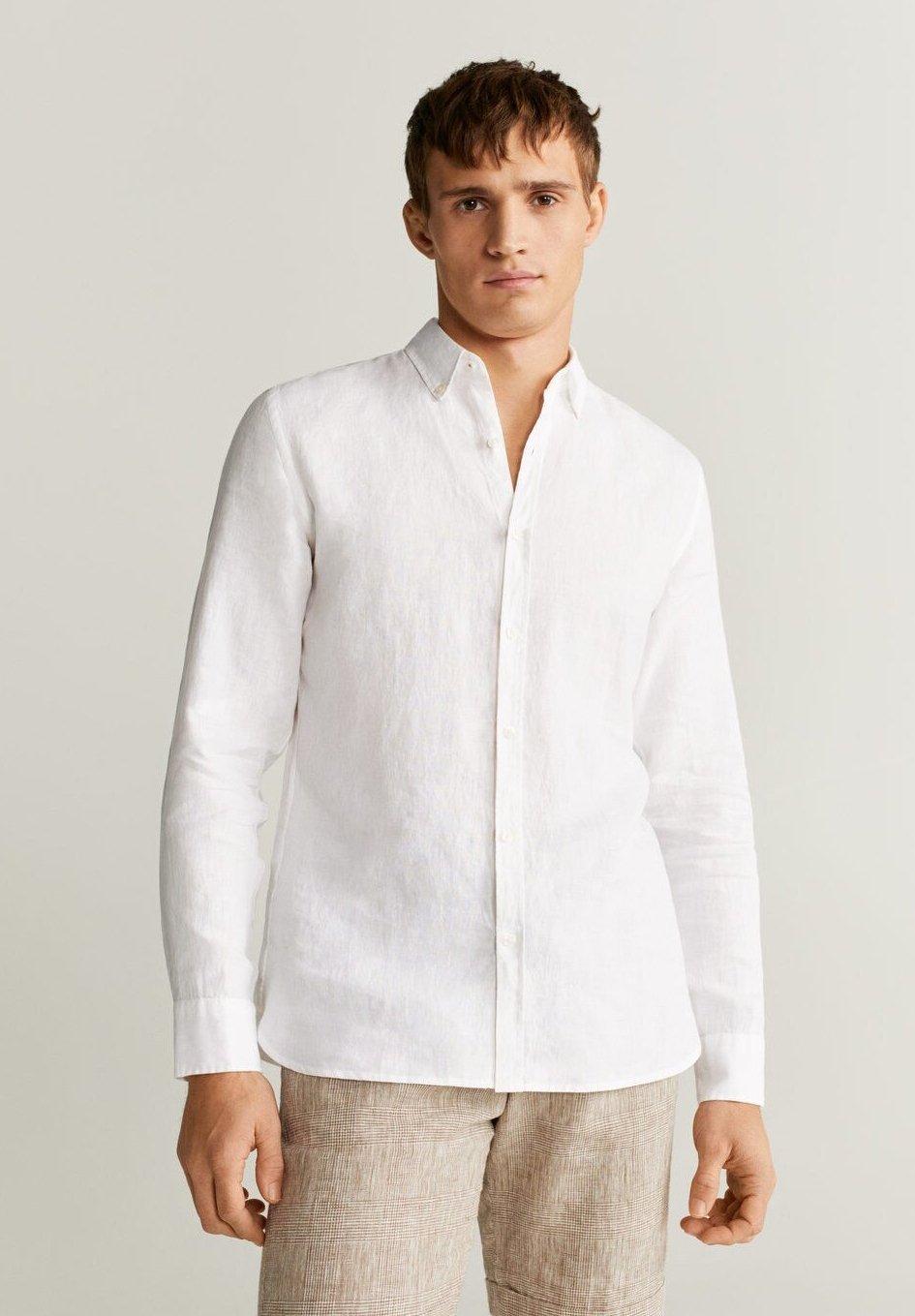 Mango AVISPA - Koszula - weiß