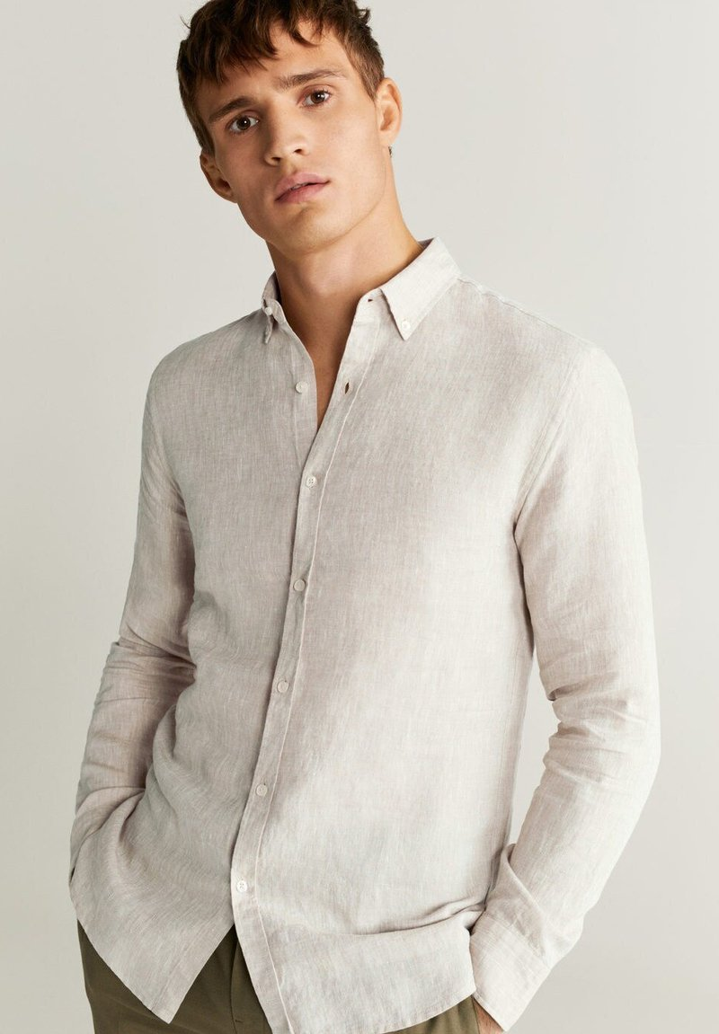 Mango - AVISPA - Overhemd - sandfarben