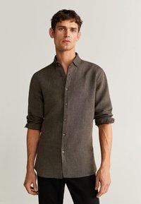 Mango - AVISPA - Shirt - brown - 0