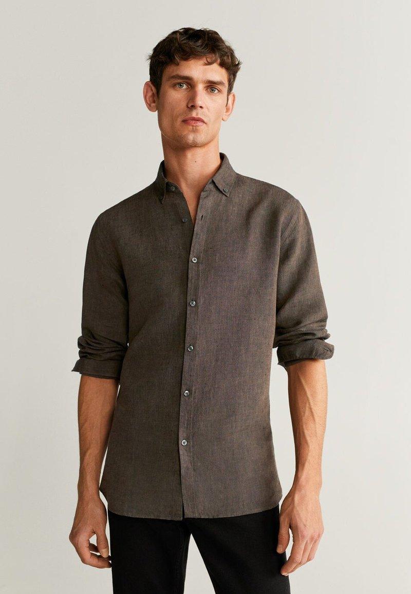Mango - AVISPA - Shirt - brown