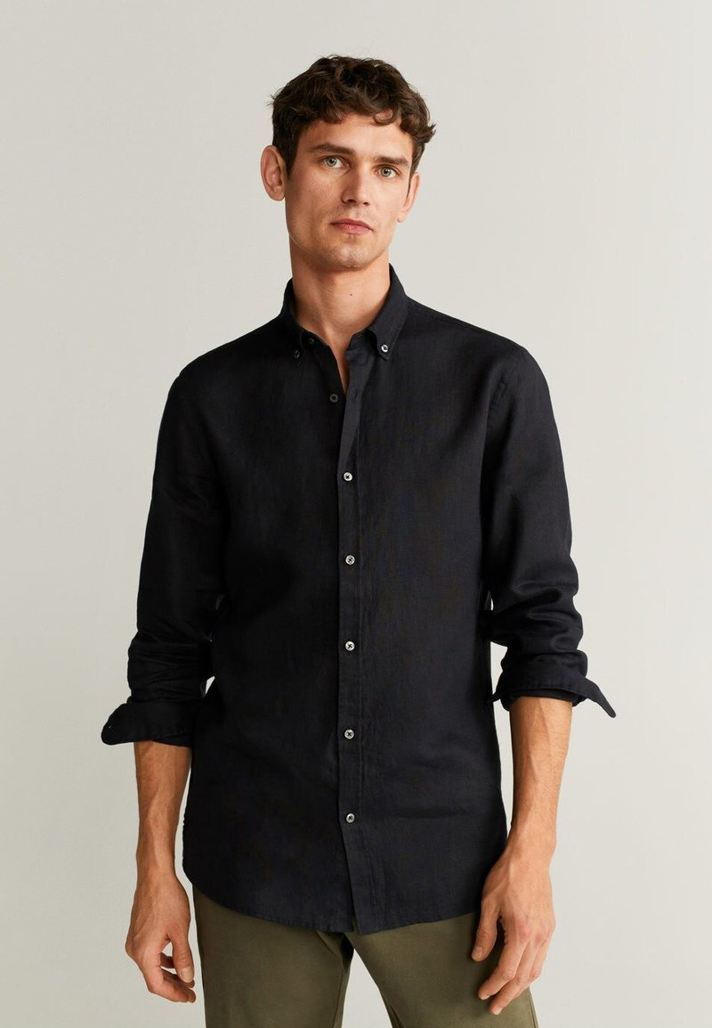 Mango - AVISPA - Shirt - black