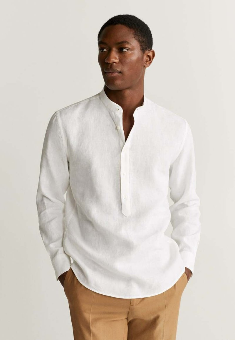 Mango - BOLAR - Koszula - weiß