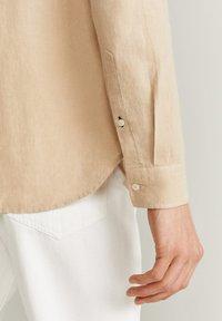 Mango - CHENNAI - Camisa - beige - 4