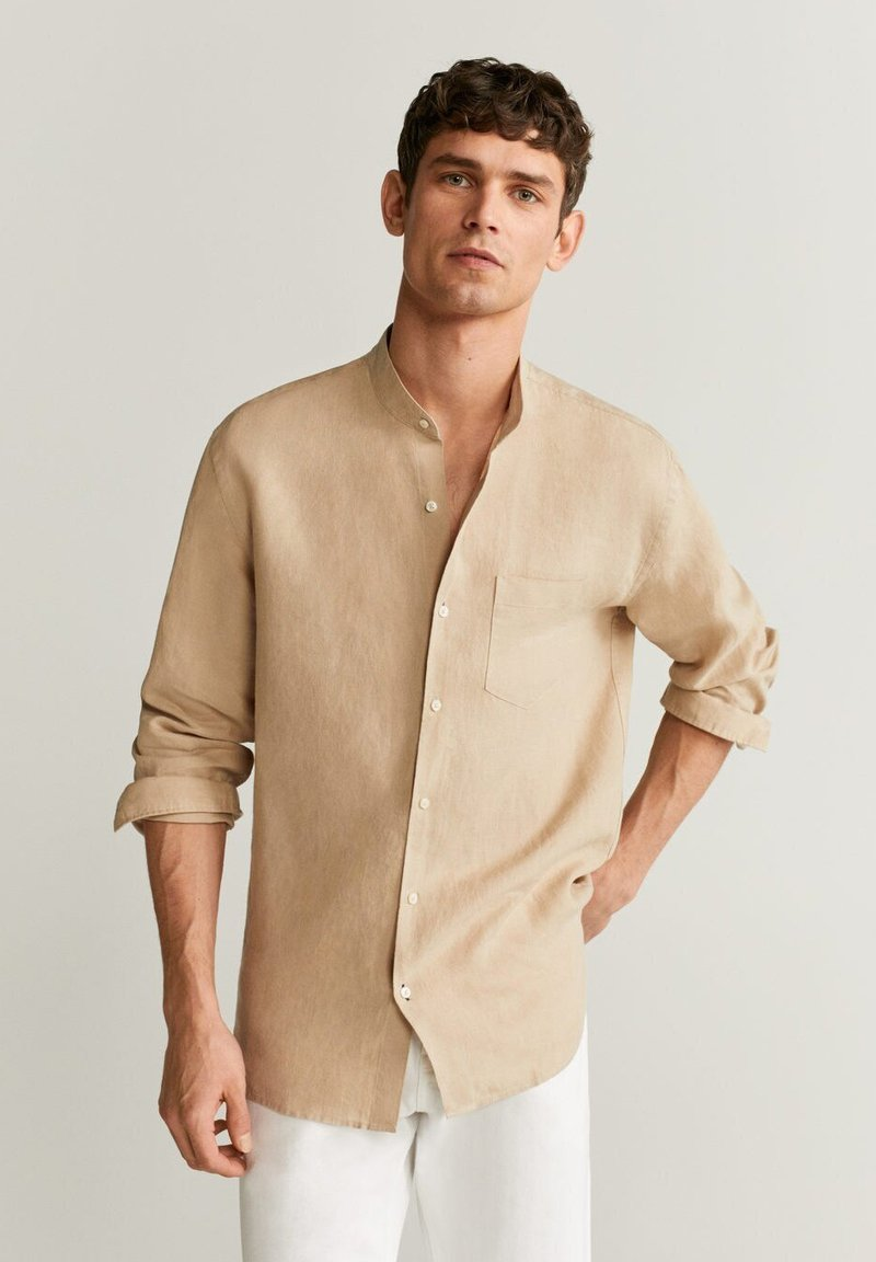 Mango - CHENNAI - Camisa - beige