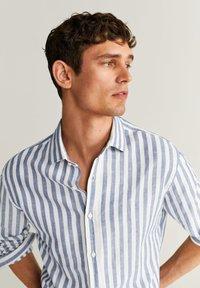 Mango - RIG - Shirt - blau - 4