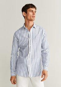 Mango - RIG - Shirt - blau - 0