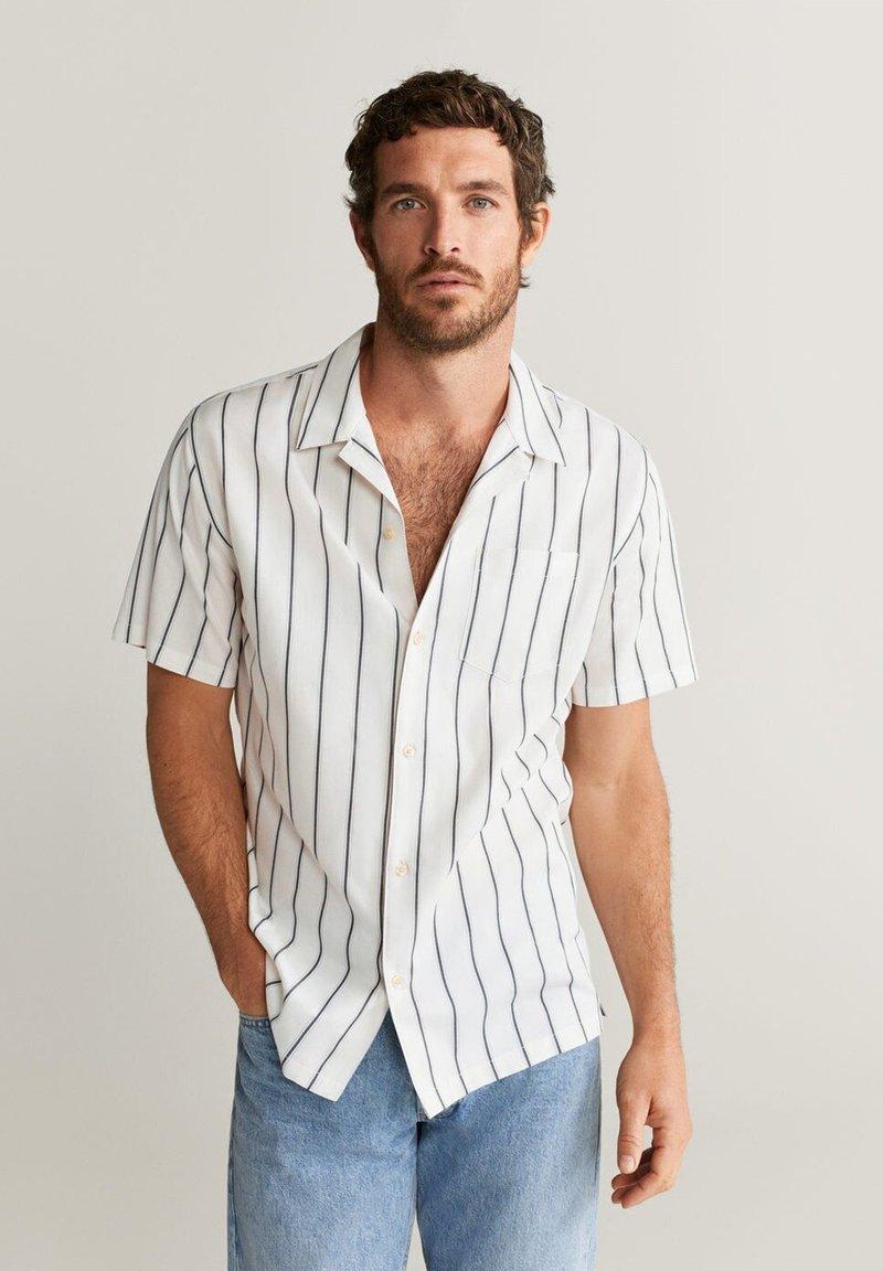 Mango - RACY - Shirt - beige