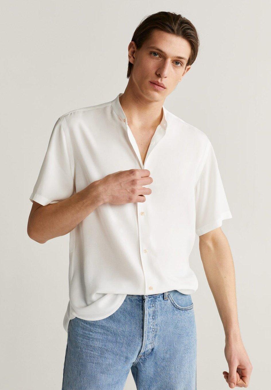 Mango SISI - Koszula - blanco
