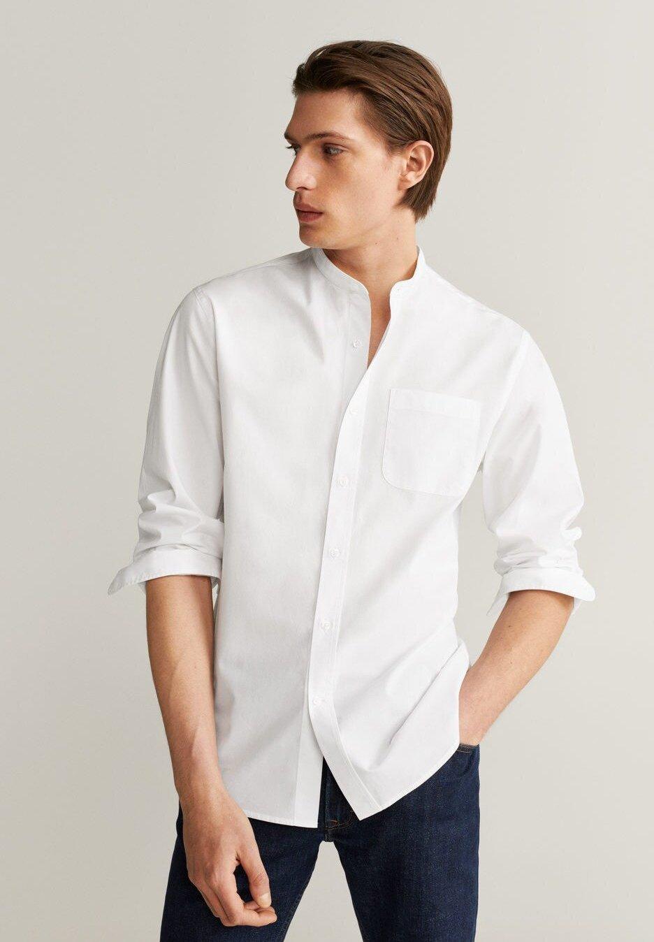 Mango JACKSON - Koszula - weiß
