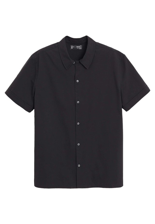 SILVIA - Hemd - schwarz