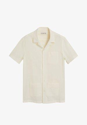 TIE - Shirt - cremeweiß